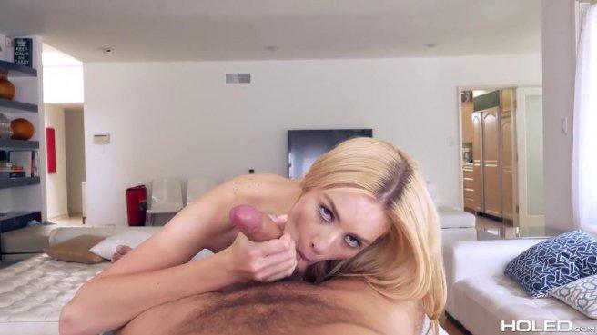 Блондинка роскошно занялась анальным трахом с другом и сняла видео prew 4